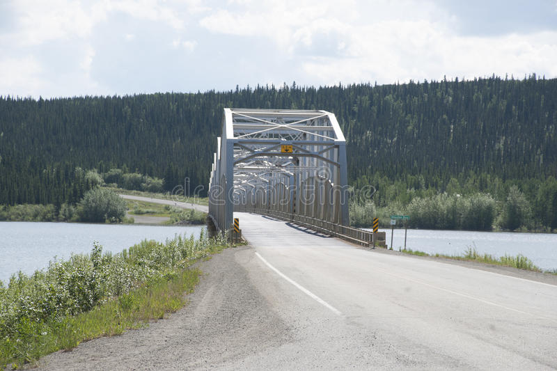 Download Teslin Lake Yukon Territory Canada Stock Image - Image of bridge, teslin: 55933355