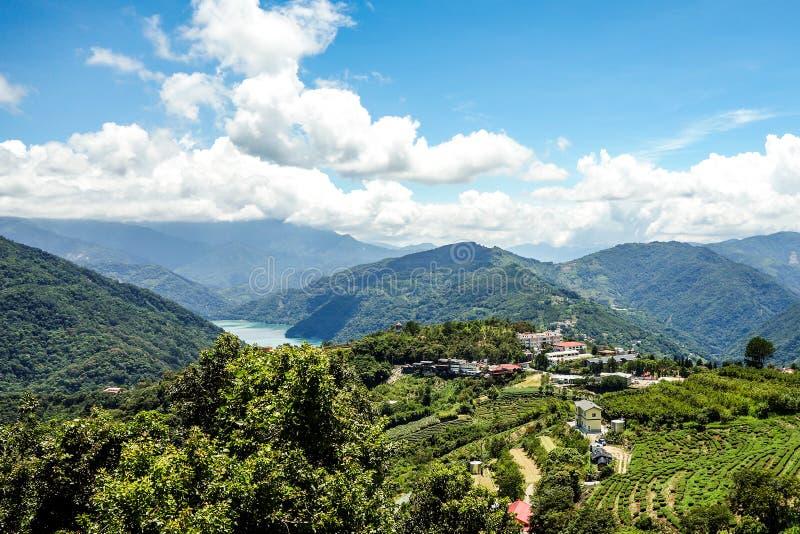 Tesoro del verde de la monta?a de Taiw?n fotografía de archivo