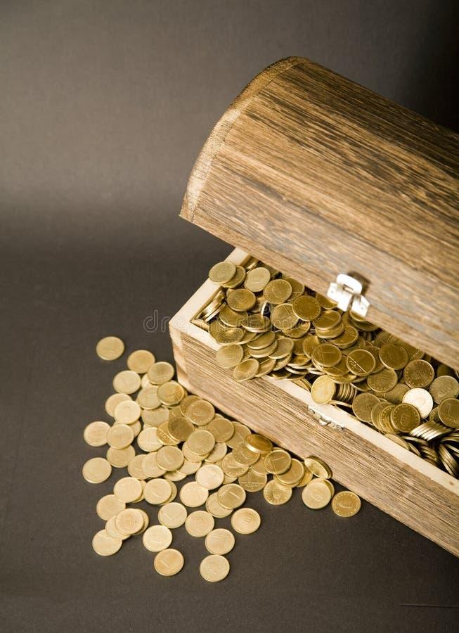 Tesoro-pecho imagen de archivo libre de regalías