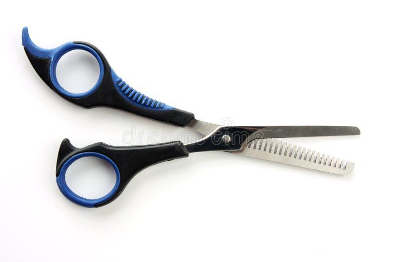 Tesouras do cabelo fotografia de stock royalty free