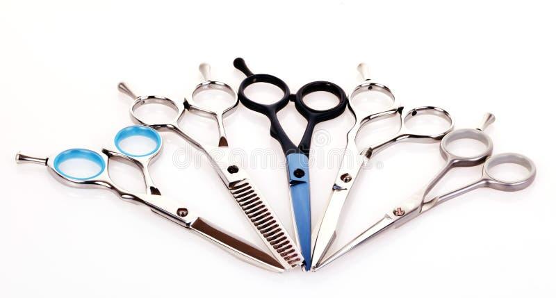 Tesouras do Hairdressing fotos de stock royalty free