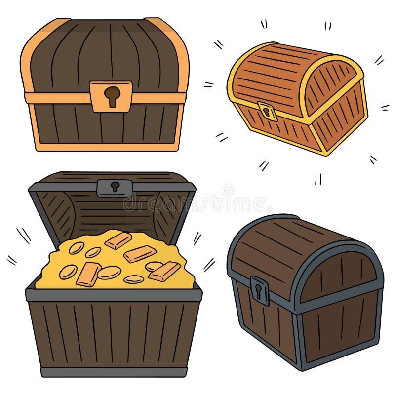 Tesouro ilustração royalty free