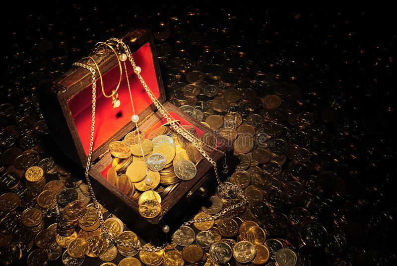 Tesouro foto de stock royalty free