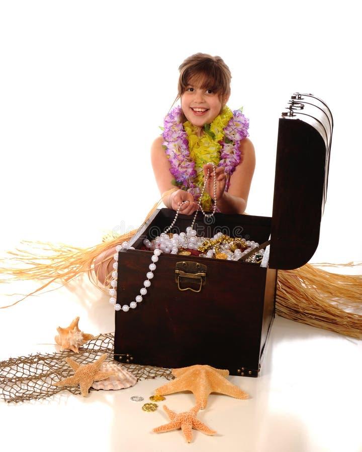 Tesouro havaiano foto de stock royalty free