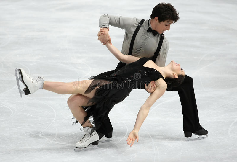 Download Tessa VIRTUE / Scott MOIR (CAN) Editorial Stock Image - Image of skater, sportl: 35711554