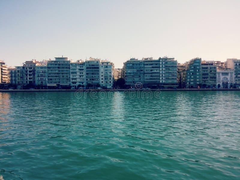 Tessalónica, a cidade a mais bonita foto de stock royalty free