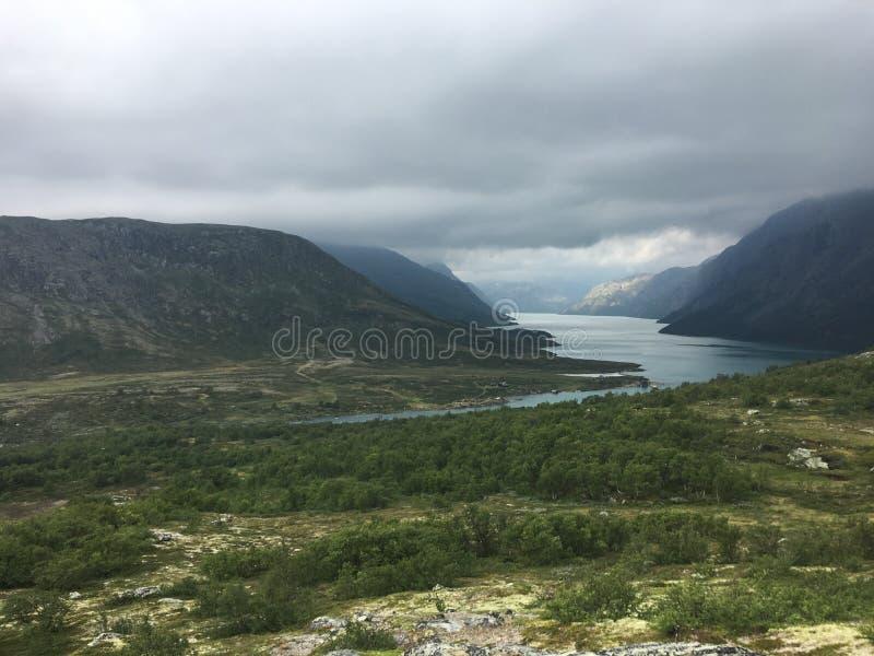Tessanden mountain in Norway - Jotunheimen stock photo