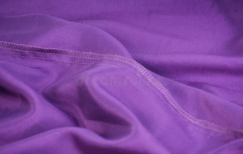 Tessile viola del tessuto fotografie stock libere da diritti
