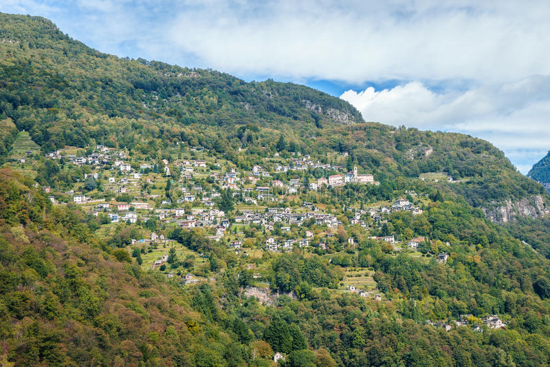 Tessin - Suíça imagem de stock