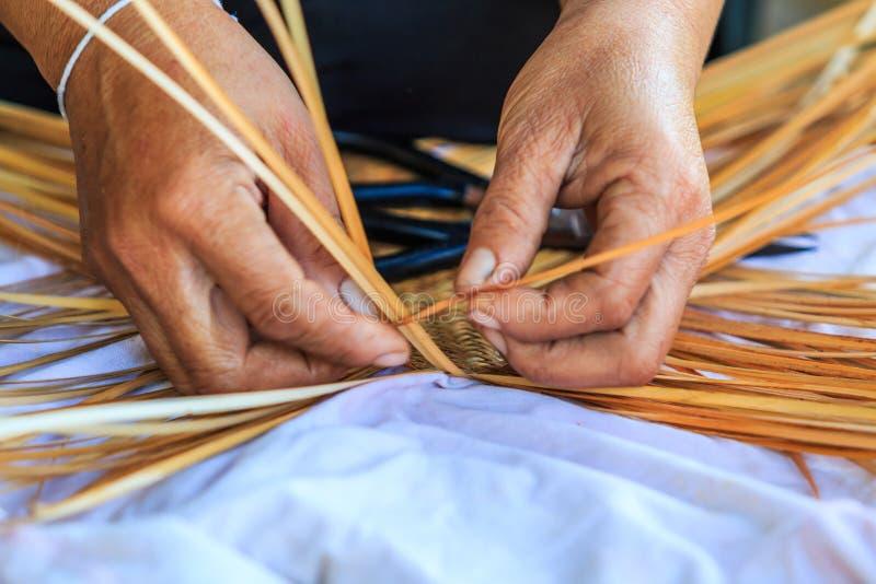 Tessitura di bambù fotografia stock libera da diritti
