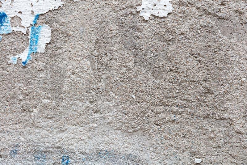 Tessitura di parete dipinta dallo Stucco immagine stock