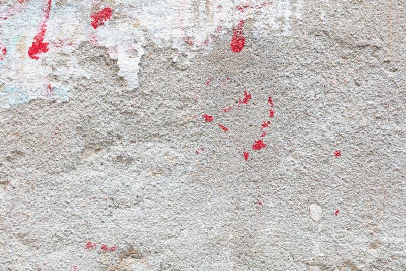 Tessitura di parete dipinta dallo Stucco fotografia stock