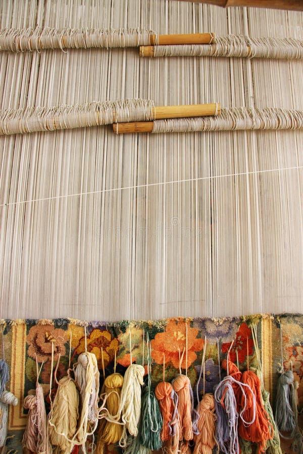Tessitura di seta della coperta immagine stock immagine for Planimetrie della coperta