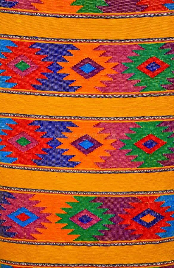 Tessitura Mayan tradizionale variopinta, Guatemala immagine stock
