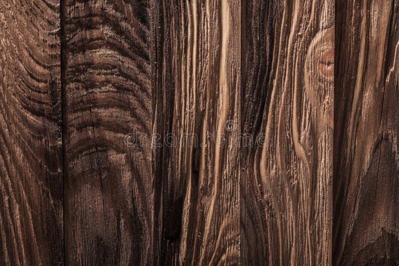 Tessitura molto ravvicinata di pannelli di legno di vintage fotografia stock libera da diritti