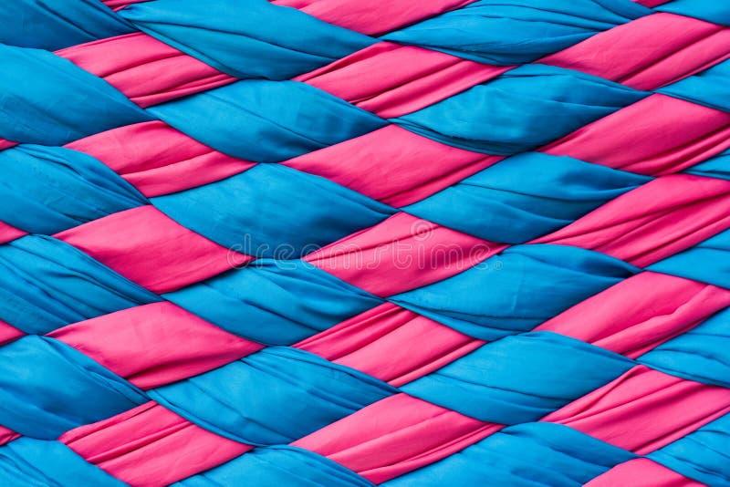 Tessuti lavorati a maglia. fotografia stock