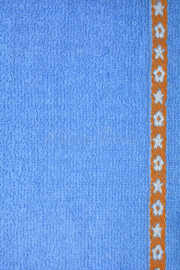 Tessuto blu fotografia stock libera da diritti