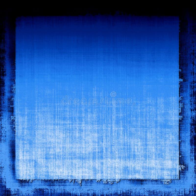 Tessuto blu di Grunge fotografia stock