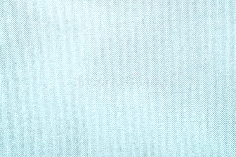 Tessuto blu di superficie del primo piano ai precedenti strutturati della sedia immagine stock libera da diritti