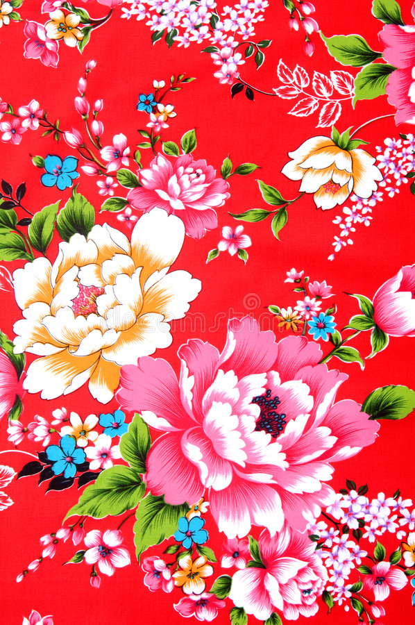 Tessuto cinese immagini stock