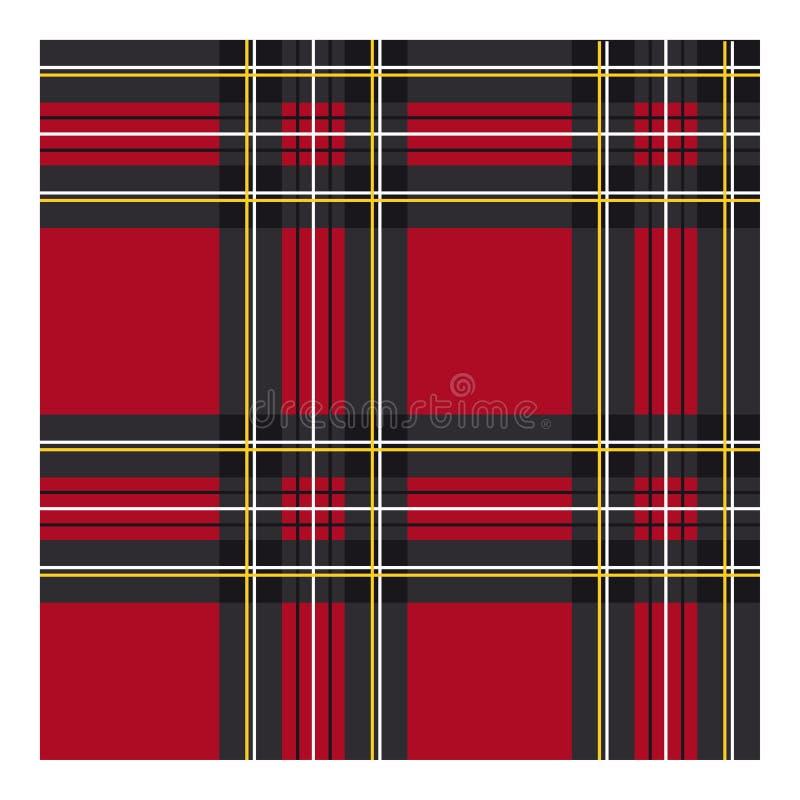 Tessuto classico del tartan per abbigliamento immagini stock
