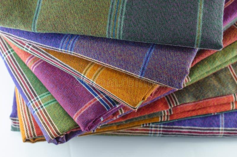 Tessuto dei sarong per il fondo del modello fotografie stock libere da diritti