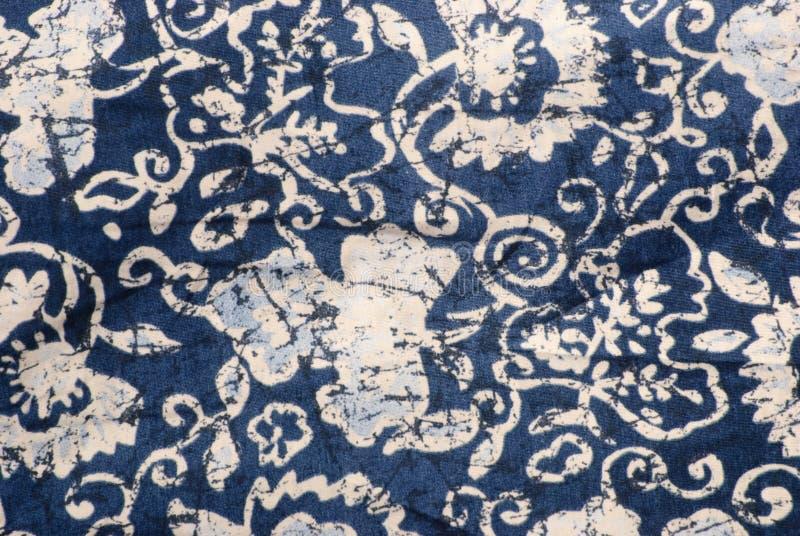 Tessuto del batik fotografia stock libera da diritti