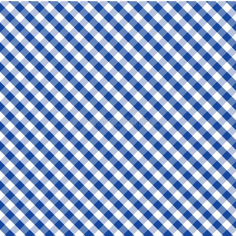 tessuto del percalle di +EPS, azzurro, priorità bassa senza giunte illustrazione di stock