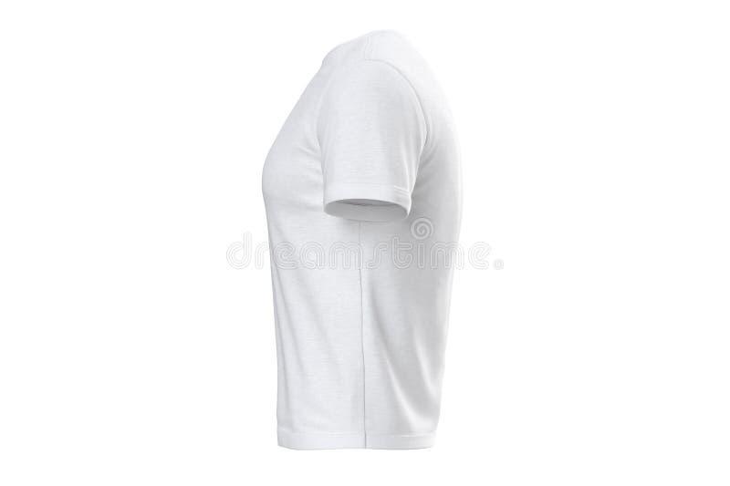 Tessuto dell'abito della maglietta, vista laterale royalty illustrazione gratis
