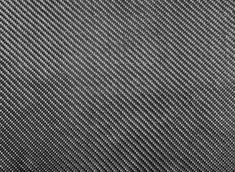 Tessuto della fibra del carbonio immagine stock