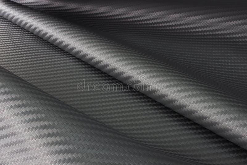 Tessuto della fibra del carbonio fotografia stock libera da diritti
