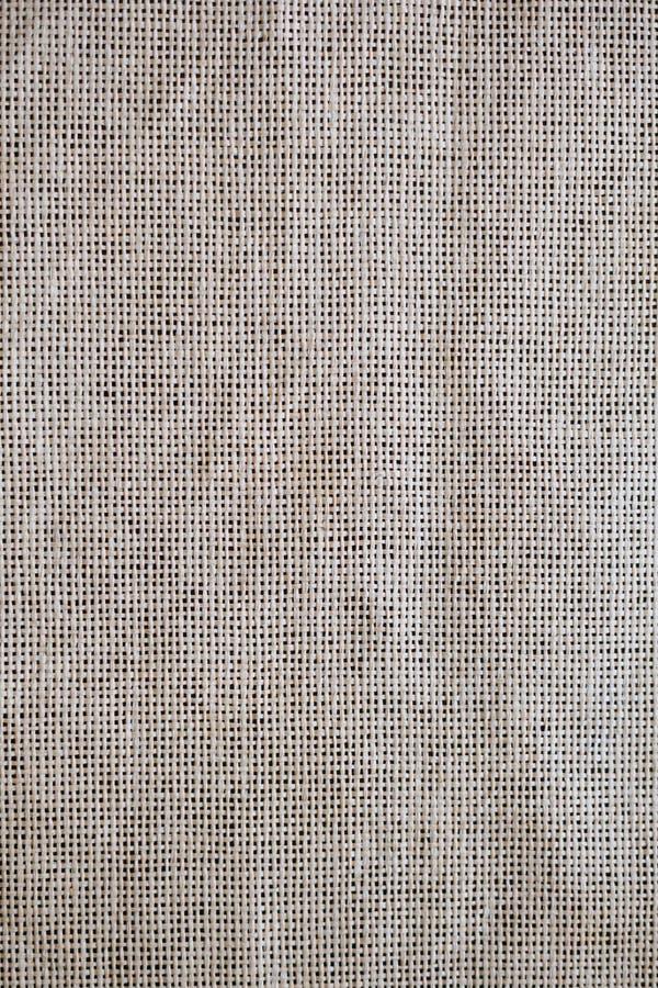 Tessuto della tela di canapa di struttura come priorità bassa immagine stock