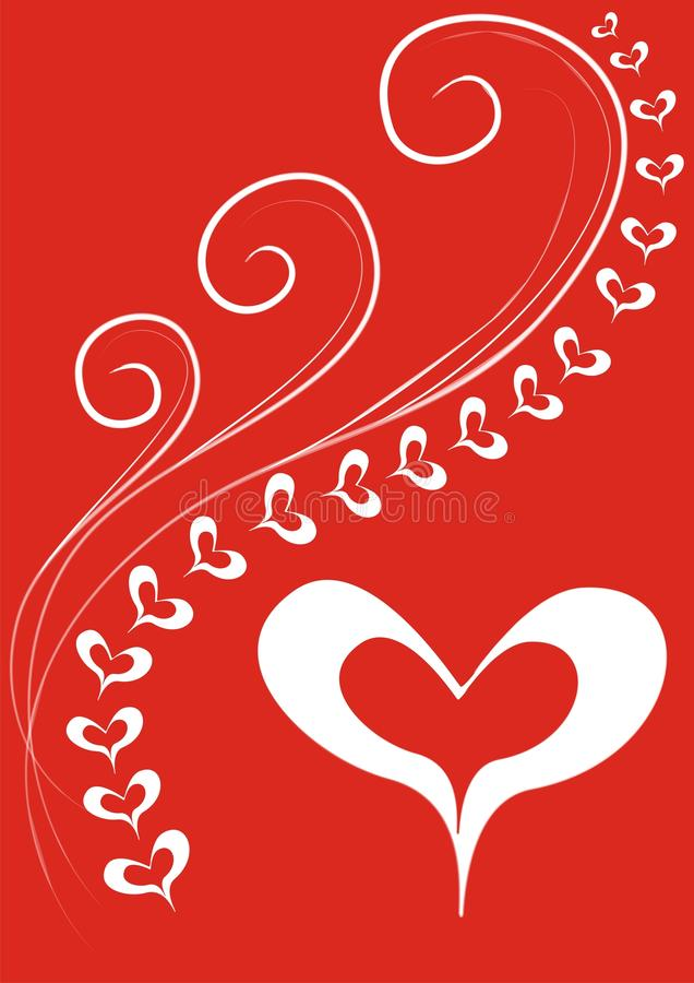 Tessuto di amore royalty illustrazione gratis
