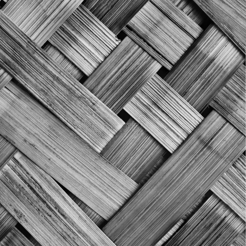 tessuto di canestro di vimini con il mater naturale fotografia stock libera da diritti