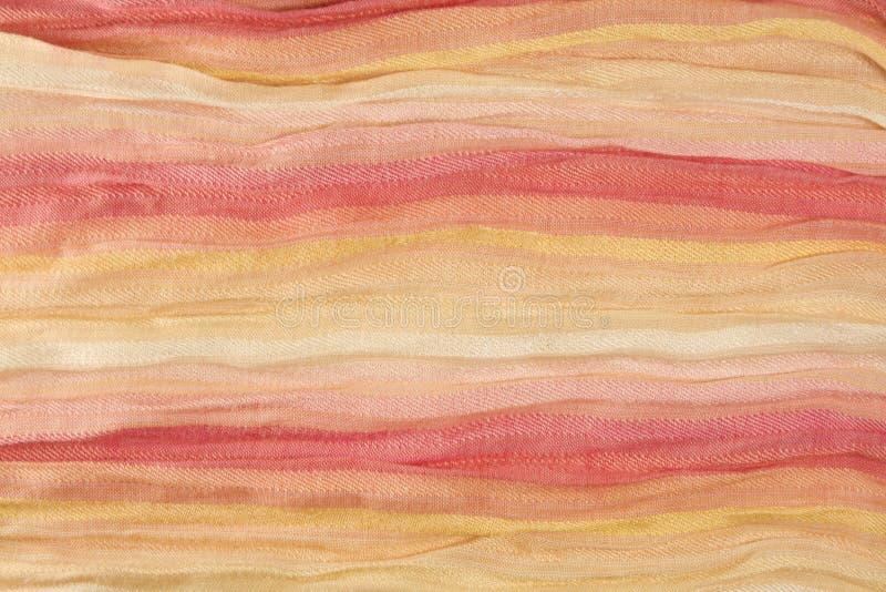 Tessuto di cotone multicolore fotografia stock libera da diritti