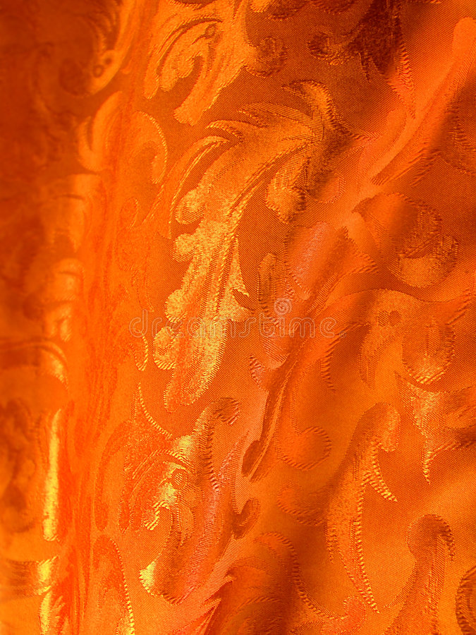 Tessuto Di Lusso Dell Oro Fotografie Stock Libere da Diritti
