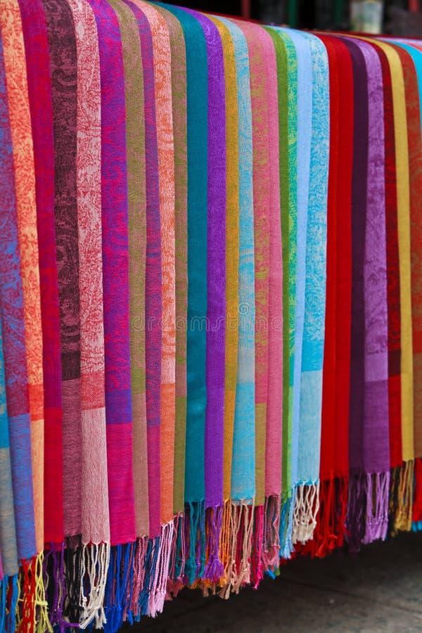 Tessuto di seta asiatico immagini stock libere da diritti