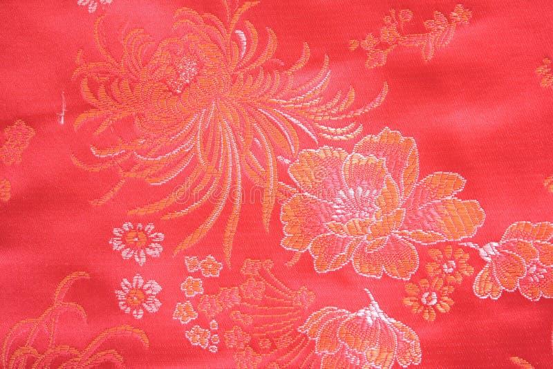 Tessuto di seta cinese immagini stock