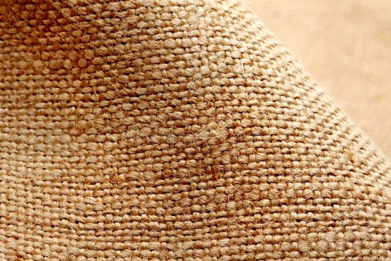 Tessuto di tela. Struttura fotografia stock libera da diritti