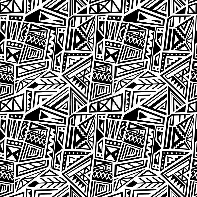 Tessuto etnico di vettore illustrazione di stock