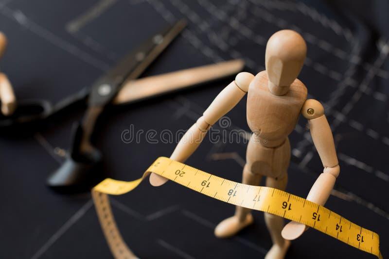 Tessuto fittizio di legno dell'abbigliamento fotografie stock libere da diritti