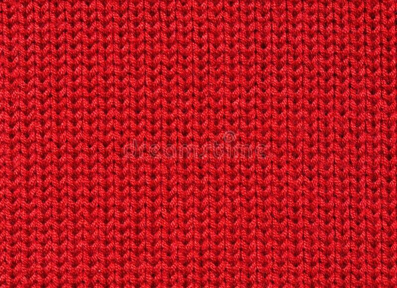 Tessuto lavorato a maglia fotografia stock