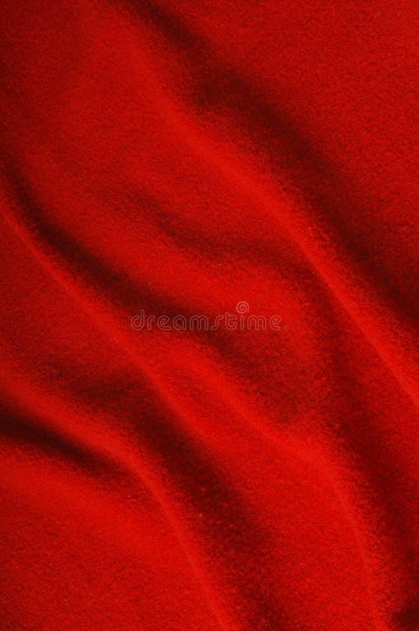 Tessuto rosso come priorità bassa fotografie stock