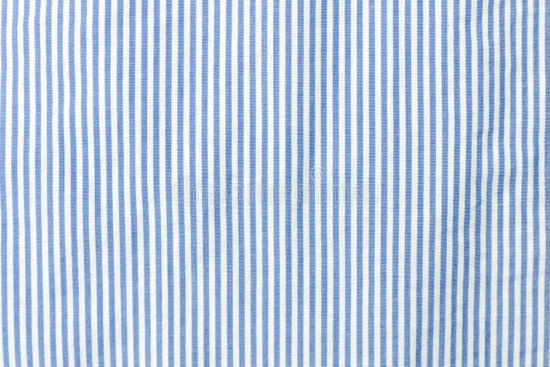 Tessuto senza cuciture a strisce blu e bianco fotografia stock