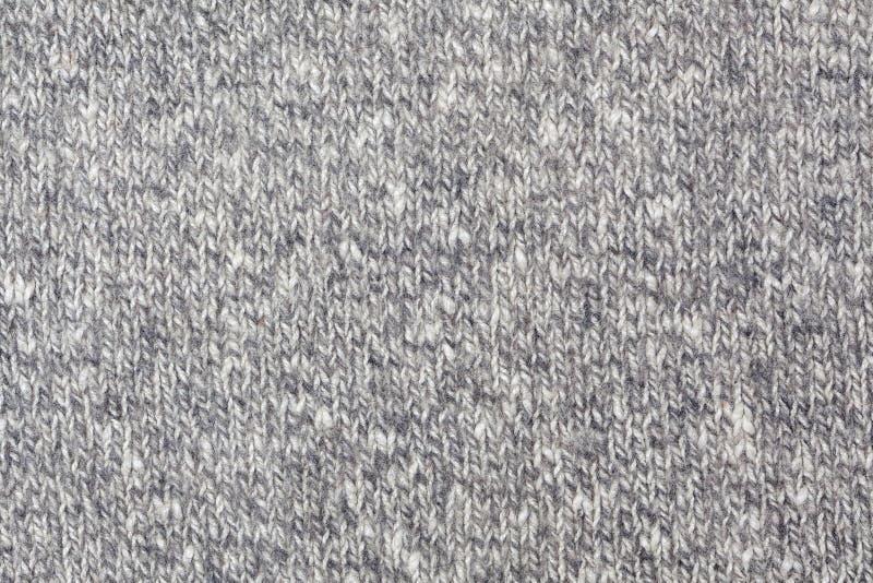 Tessuto - serie del tessuto - lana tricottata rustica fotografia stock libera da diritti