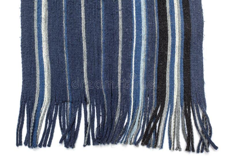 Tessuto - serie del tessuto - scialle tricottato lana fotografia stock