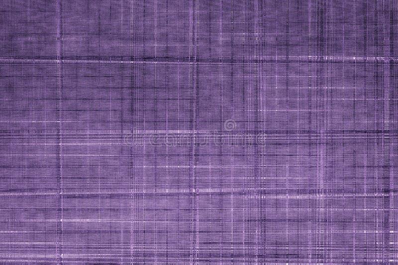 Tessuto ultra porpora del campione, superficie granulare del tessuto per la copertina di libro, elemento di tela di progettazione immagini stock libere da diritti