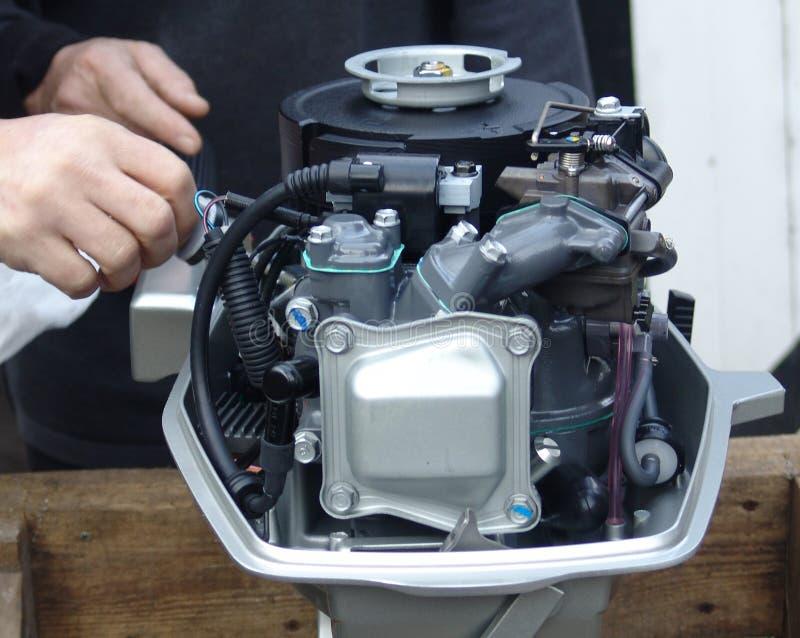 Test 001 van de motor stock fotografie
