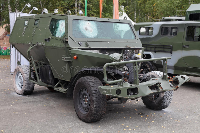 Download The test of an armored car editorial photo. Image of fire - 28577771