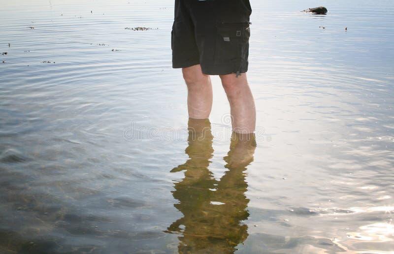 Test de l'eau photographie stock libre de droits